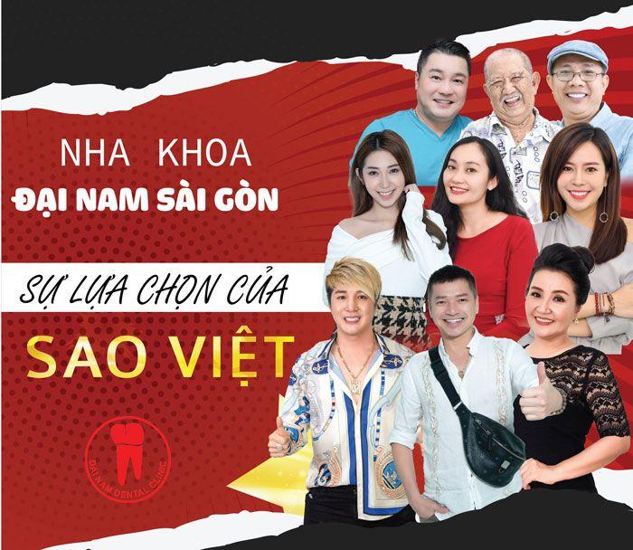 Nha khoa Đại Nam Sài Gòn - Sự lựa chọn của sao Việt